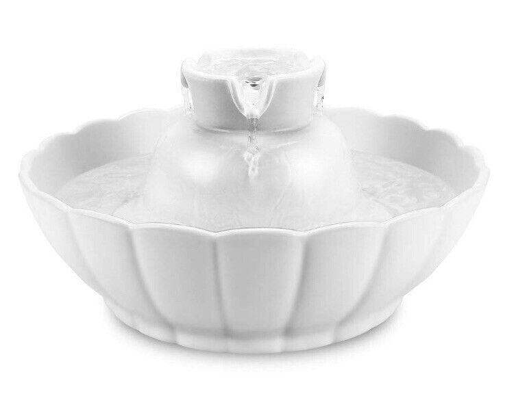 IPETTIE Ceramic Pet Drinking Fountain