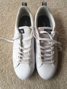 Details about ADIDAS NEO Men's Advantage Clean VS Sneaker White Blue Sz 11.5
