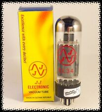 JJ EL34 Valve- fully tested by us and the factory - Unit Quantity 1