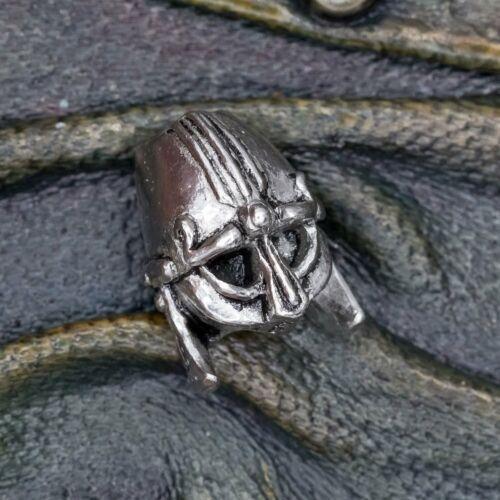Viking Helmet Hair Bead