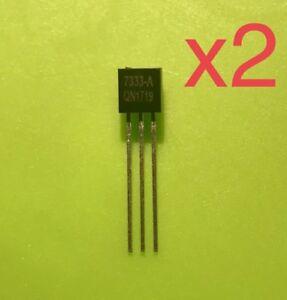 2pcs x HT7333-A TO-92 7333 Low Power Consumption envío rápido desde España