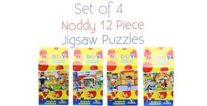 Childrens-Noddy-Puzzles-Set-Of-4-Indiviual-Jigsaw-Puzzles-Ideal-Gift-Idea