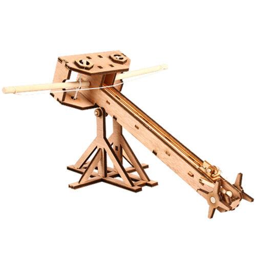 BALLISTA Wooden Model Kit Miniature Catapult Acient Arms Weapon Education Kits