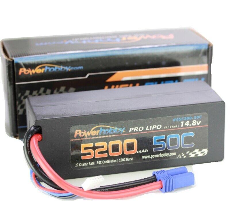 CS-50C-5200-4S RoaringTop LiPo Akku Hardcase 14,8V 4S1P 5200mAh 50C XT90