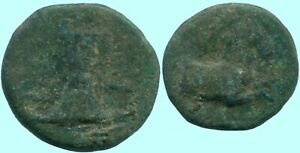 Intellektuell Horse Ancient Authentic Greek Coin 3,4gr/15,9mm @grk1125.8ds Griechische Münzen