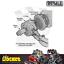 thumbnail 4 - Derale Atomic-Cool Remote Mount Engine Oil Cooler Kit w/ Fan - DP15450