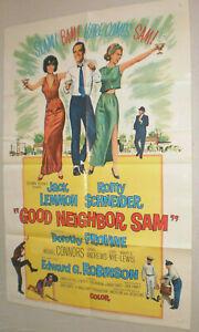 Filmplakat,Plakat,GOOD NEIGBOR SAM,JACK LEMMON,ROMY SCHNEIDER #72
