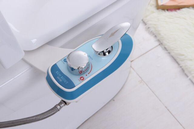 KOR KLN Bidet DX100 Fresh Cold Water Spray Non-Electric Bidet Toilet Attachment