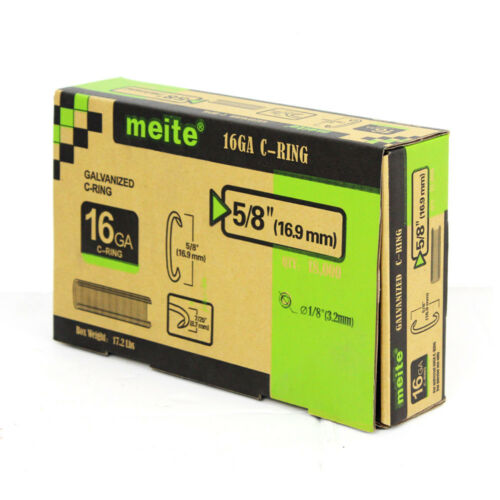 meite SC760-16GA C Ring Staples by 16 gauge C ring tools C ring gun C ring plier