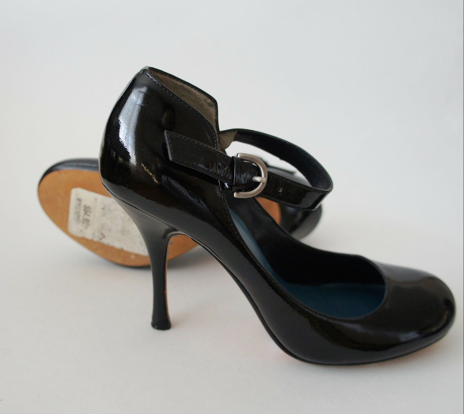 Auth Max Max Max Studio Patent Leather Pumps Größe 6  110 5595a8