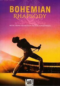 Klavier-Gesang-Gitarre-Noten-Bohemian-Rhapsody-QUEEN-Songbook