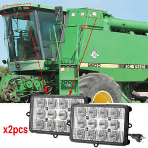 Details about For John Deere Combines Cotton Pickers Harvesters Windrowers  4890 4895 4990 x2