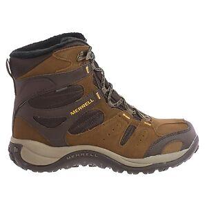 12-M-Merrell-Kiandra-men-039-s-Waterproof-Insulated-Hiking-Outdoor-Winter-Snow-Boots