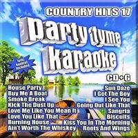 Various Artists - Party Tyme Karaoke: Country Hits 17 [new Cd] on Sale