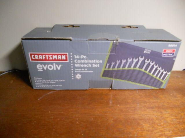 CRAFTSMAN 910947 11 Piece Metric Combination Wrench Set