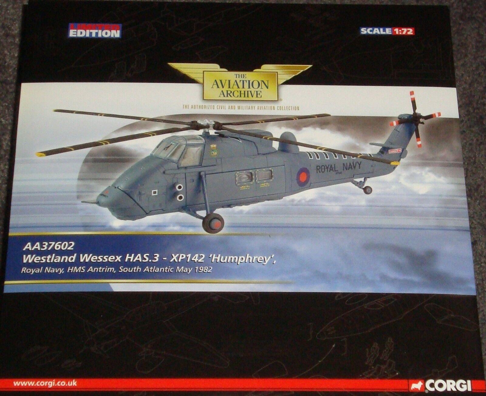 Corgi-Westland Wessex HAS.3 Helicopter-XP142 'Humphrey' RN Antrim'82 -1 72 72 72 1c3ffa