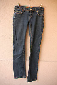 Blaue-Amisu-Jeans-Groesse-26