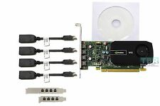 PNY Nvidia NVS510 2GB  DDR3 PCI-E 3.0 Video Graphics Card 4 Monitors support