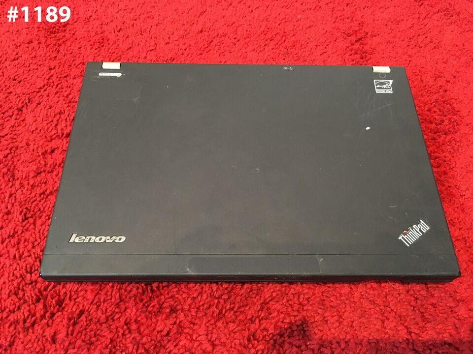 Lenovo tp00018a, 2.30 GHz, 4 GB ram
