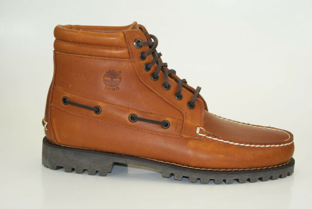 Timberland Authentics 7 Eye Chukka Boots Men Lace up Boots A12YX