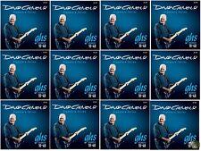 GHS GB-DGF David Gilmour Signature Series Blue Electric Guitar Strings 12 PACK