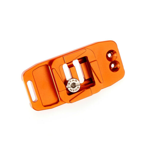3 gambe cosa Ellie base 85 PD di punta Design compatibile 85mm RELEASE PLATE ORANGE