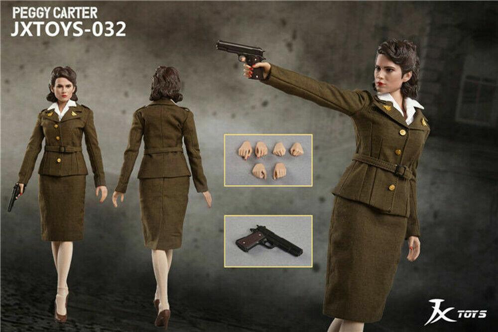 16  032 JXgiocattoli AGENTE Peggy autoTER cifra in US Army alta uniforme Nuovo di zecca con scatola in uomoo