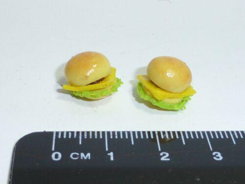 1:12 SCALA 2 Cheeseburger Casa delle Bambole in Miniatura