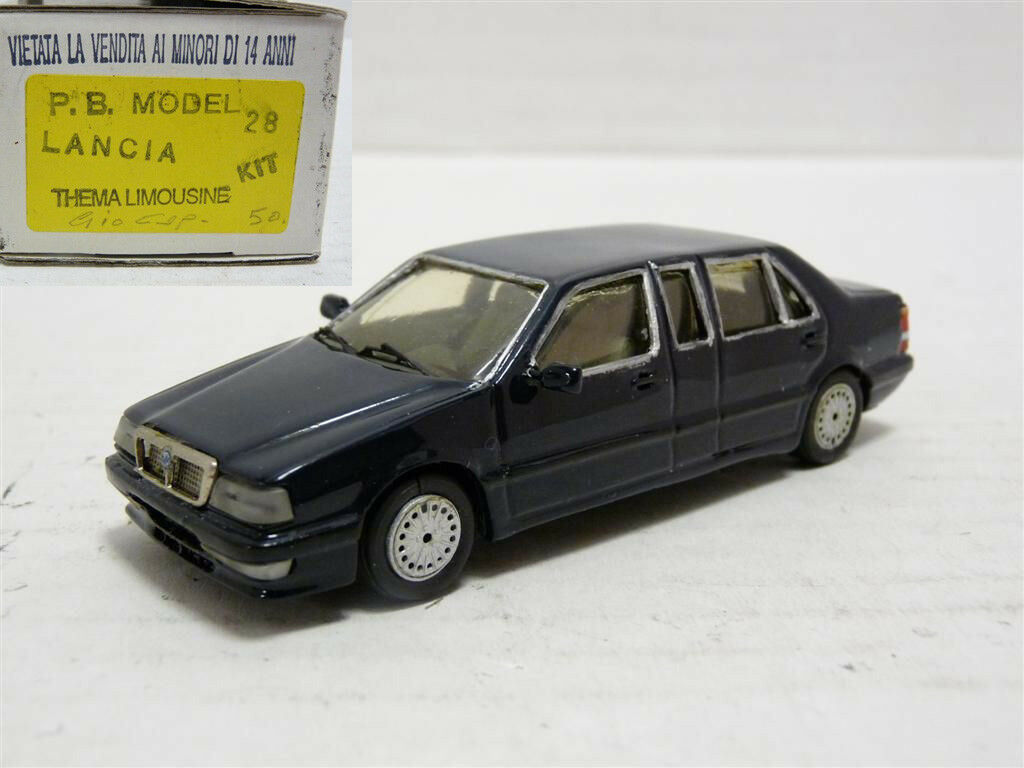 PB 28 1 43 1987 LANCIA Thema Limousine Handmade Resin Model Kit Voiture