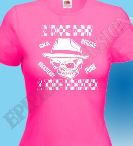 Mens T-Shirt Ska 2 Tone Music Reggae Punk 1970/'s Retro Ladies The Specials