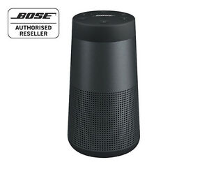 bose soundlink revolve bluetooth speaker 360 sound water resistant black ebay. Black Bedroom Furniture Sets. Home Design Ideas