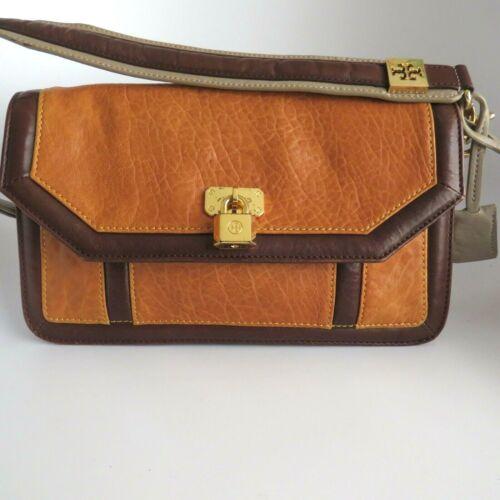 Tory Burch Shoulder Bag Contrast Leather Poss Vin… - image 1