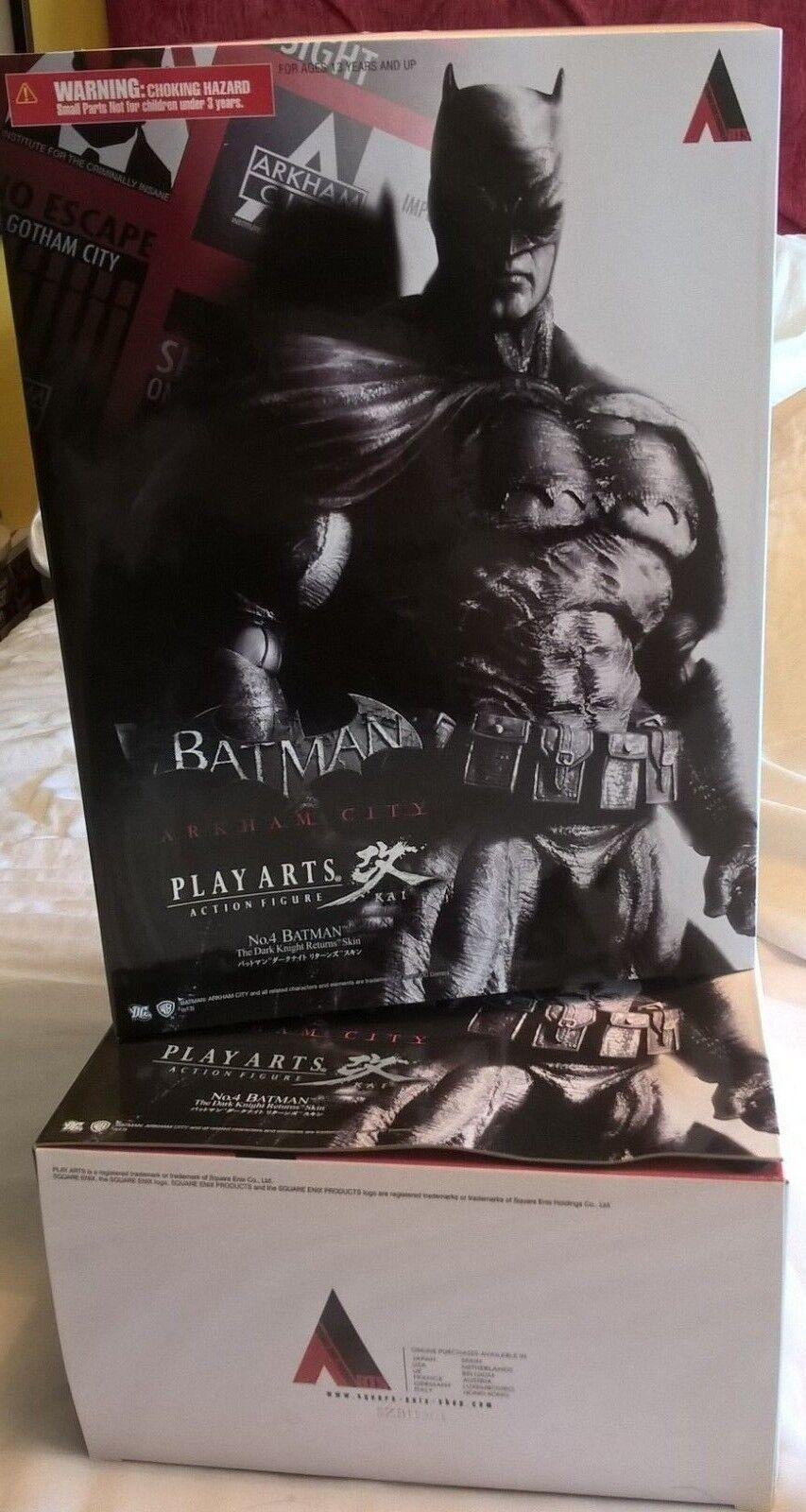 Batman Figura de acción MIB Play Arts Kai-Dark Knight Returns De La Piel