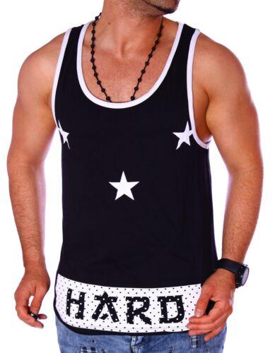 Herren Tanktop London T-Shirt Stern Ärmellos Shirt Achselshirt Urlaub Strand Neu