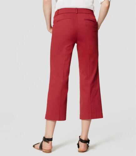 8 Reg NWT Black Color 2 Reg Ann Taylor LOFT Cropped Isla Pants Size 00P