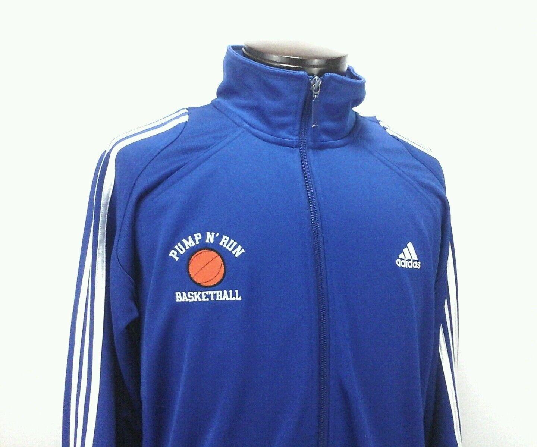 ADIDAS CLIMA 365 Veste de survêtement Athletic Sport Basketball Pump n Run pour Homme Large