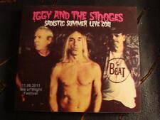 Slip Double: Iggy Pop And The Stooges : Sadistic Summer Live 2011 2 CDs Ltd Ed