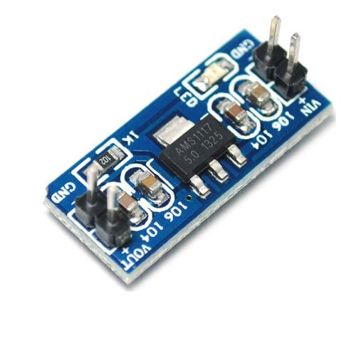 5PCS NEW 6.0V-12V to 5V AMS1117-5.0V Power Supply Module AMS1117-5.0