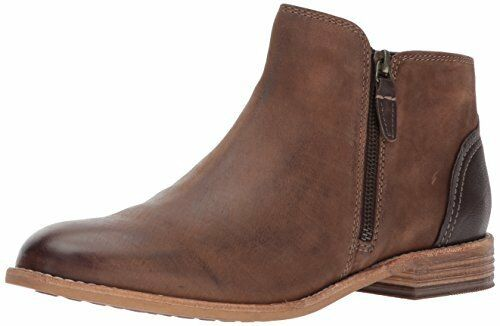 447d906e29ad Clarks Women s MAYPEARL Juno Ankle Bootie Brown Leather 7 M US for sale  online