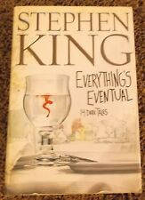 Everything's Eventual Stephen King hardcover book dust jacket 2002 14 Dark Tales
