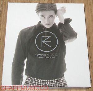 ZhouMi-SUPER-JUNIOR-M-1ST-MINI-ALBUM-Rewind-CD-PHOTOCARD-POSTER-IN-TUBE-CASE