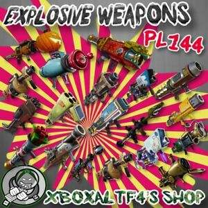 RPG-Explosive-Weapon-PL144-Supercharged-Choose-From-List-Fortnite-STW