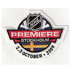 2009-NHL-Premiere-Game-Stockholm-Jersey-Patch-Detroit-Red-Wings-St-Louis-Blues