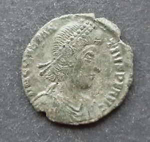Roman bronze coins. Constantius II (337-361)