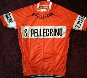 Pellegrino cycle cycling jersey retro vintage NWT  large xl - Glasgow, United Kingdom - Pellegrino cycle cycling jersey retro vintage NWT  large xl - Glasgow, United Kingdom