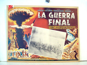 ALL-SCY-FICTION-ONLY-AVAILABLE-24h-THE-FINAL-WAR-William-Ross-1961-MEXICAN