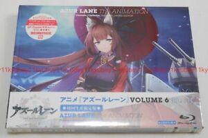 Nuevo-Azur-Lane-Vol-6-Primera-Edicion-Limitada-Blu-Ray-Estuche-de-codigo-de-serie-FOLLETO-Japon