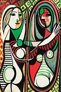 Girl Before a Mirror 1932 (Juene Fille Devant Un Mirror ...