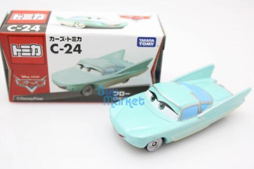 Tomica Takara Tomy Disney Mini Motors C-24 Flow Standard Diecast Toy Car CARS 2