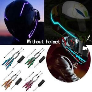 Casque-de-moto-LED-EL-Light-Strip-Style-Shark-Night-etanche